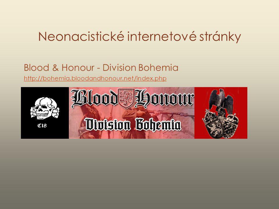 Neonacistické internetové stránky