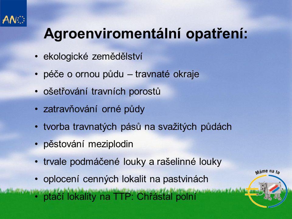 Agroenviromentální opatření: