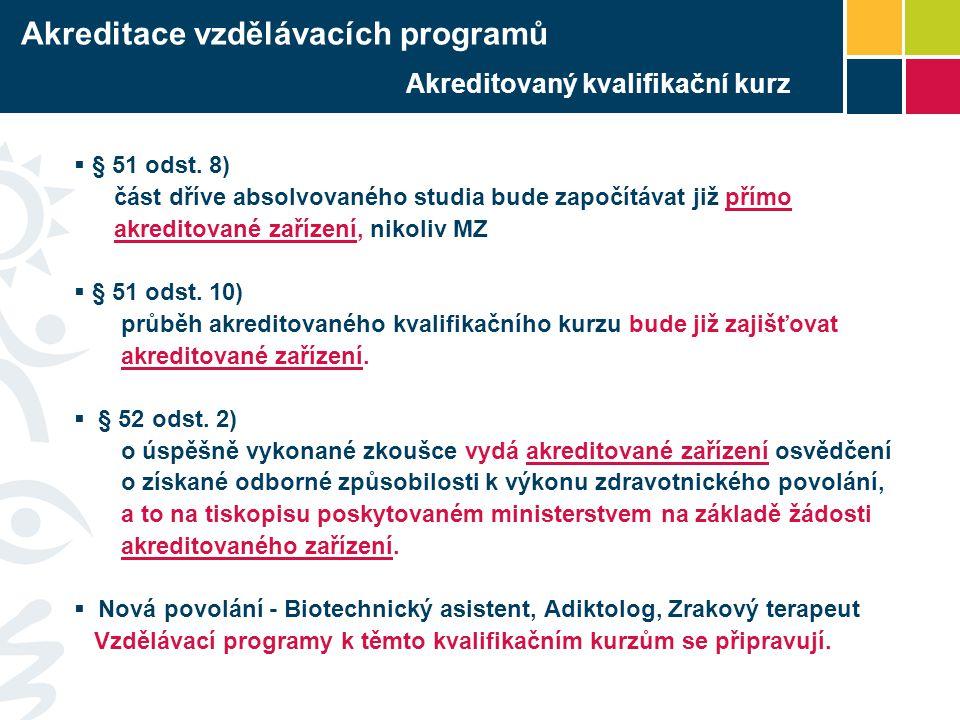 Akreditovaný kvalifikační kurz