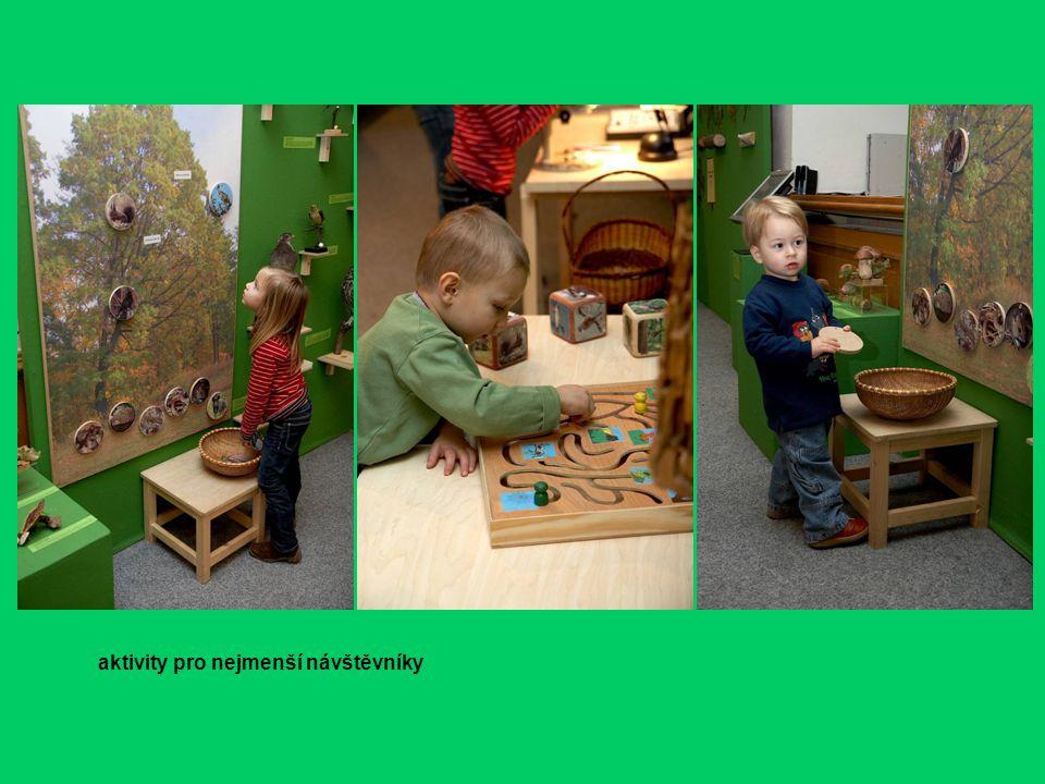 aktivity pro nejmenší návštěvníky