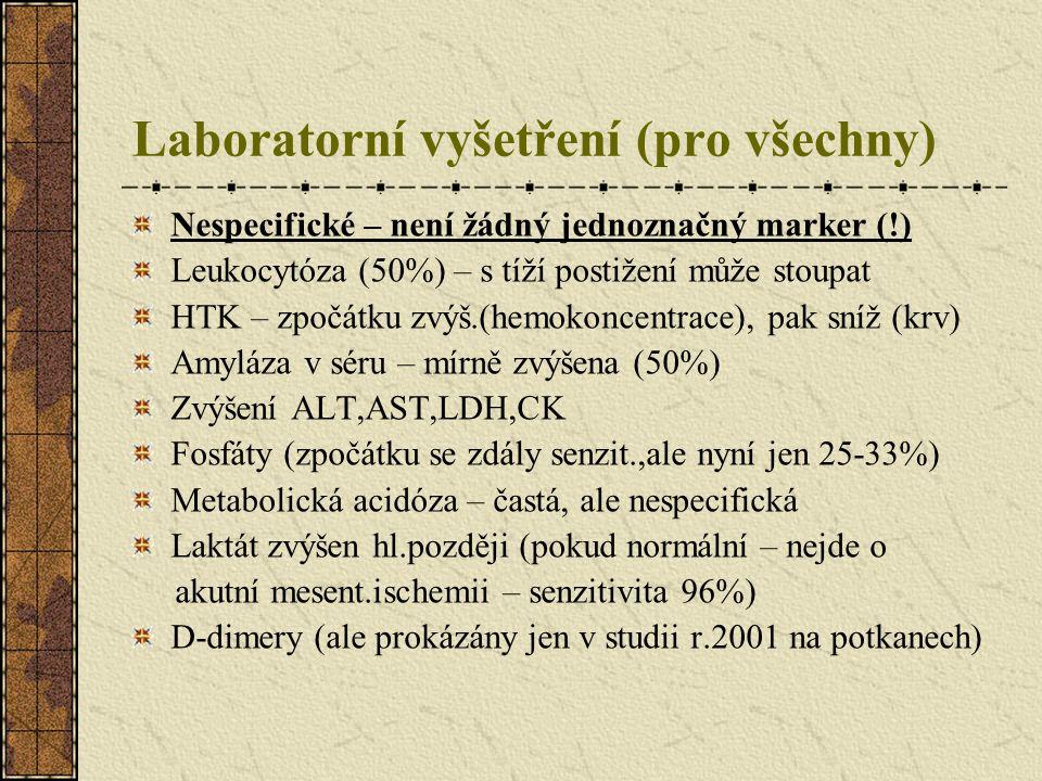 Laboratorní vyšetření (pro všechny)