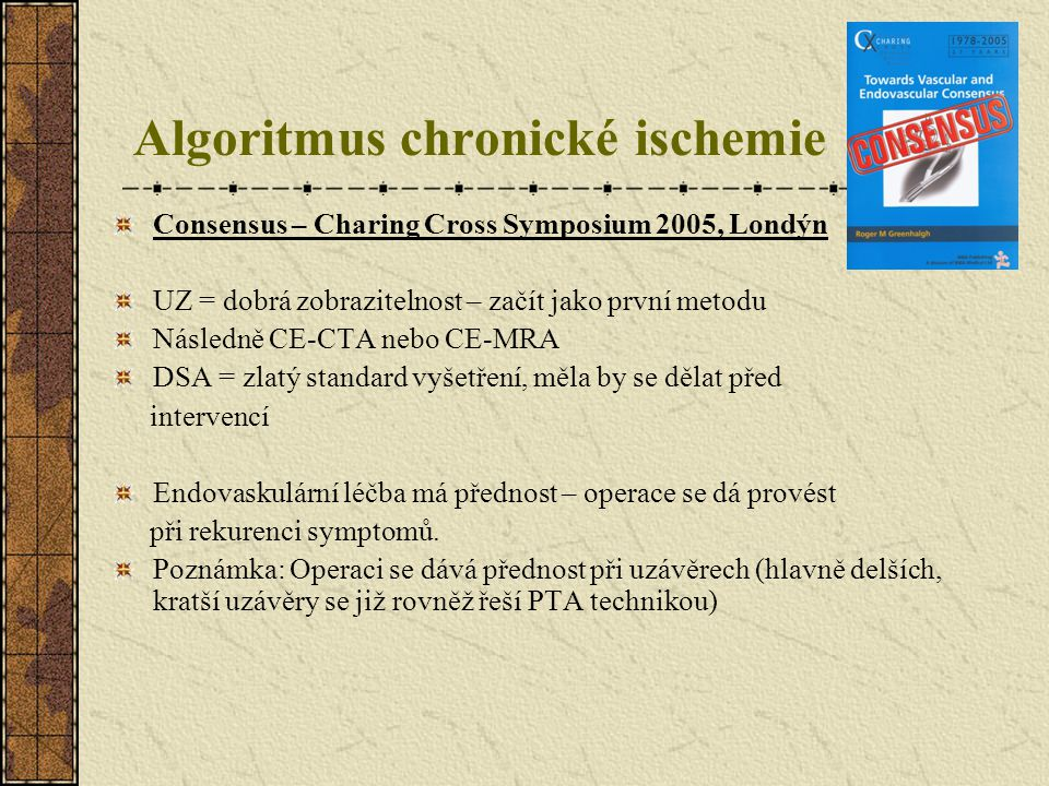 Algoritmus chronické ischemie