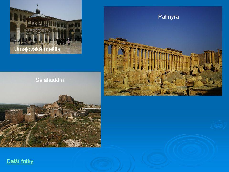 Palmyra Umajovská mešita Salahuddín Další fotky