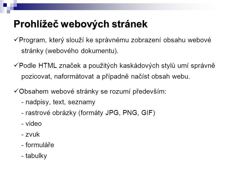 Prohlížeč webových stránek