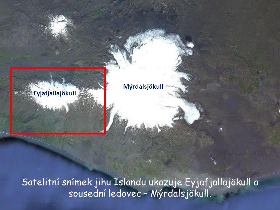 Mýrdalsjökull Eyjafjallajökull.