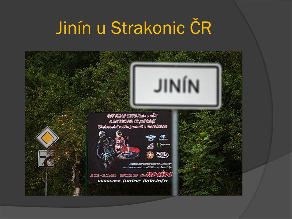 Jinín u Strakonic ČR
