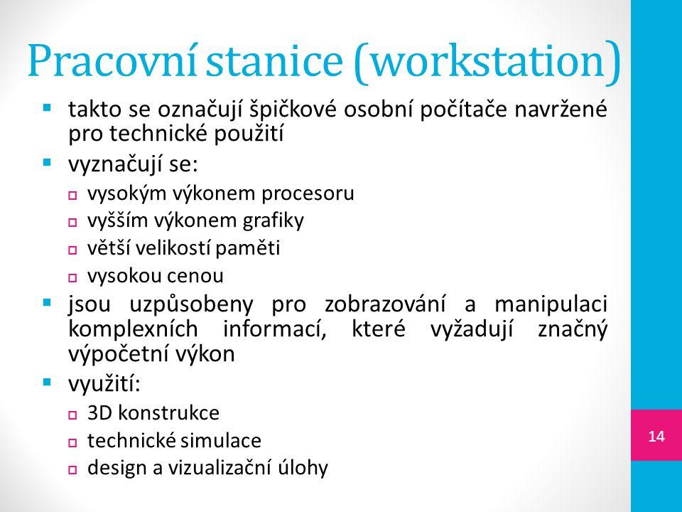 Pracovní stanice (workstation)