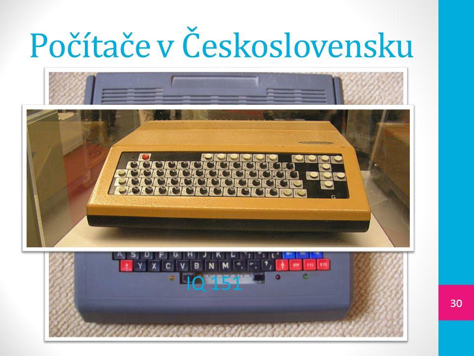Počítače v Československu