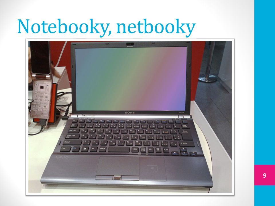 Notebooky, netbooky