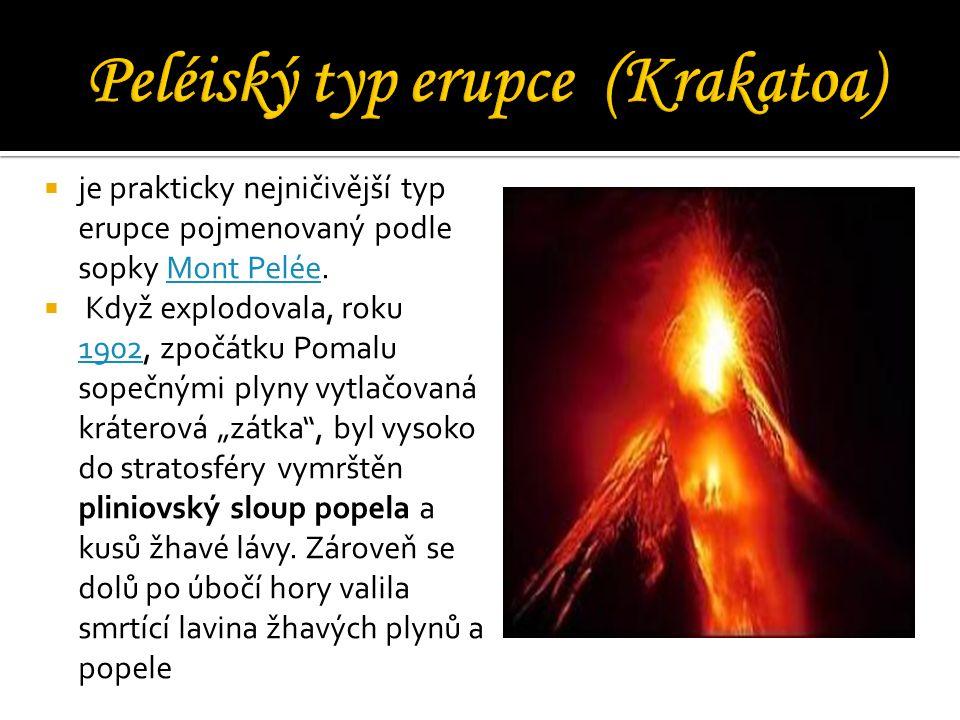 Peléiský typ erupce (Krakatoa)