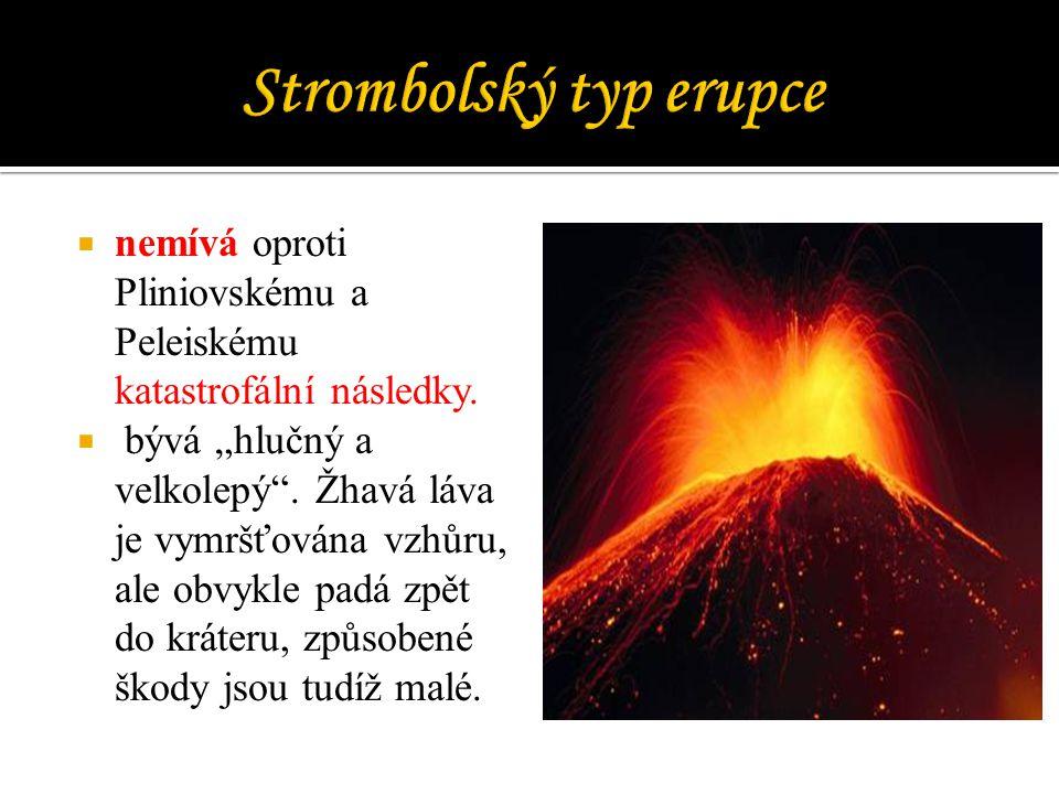 Strombolský typ erupce