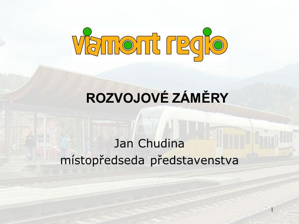 Jan Chudina místopředseda představenstva
