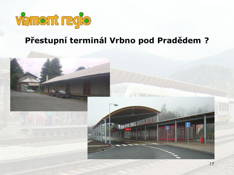Přestupní terminál Vrbno pod Pradědem
