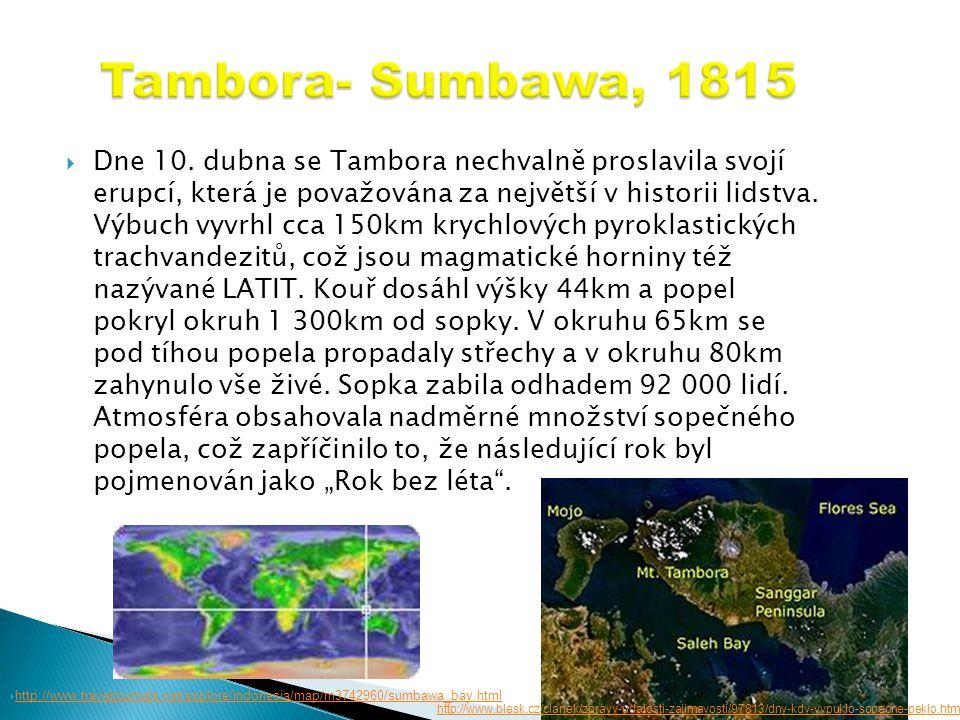 Tambora- Sumbawa, 1815