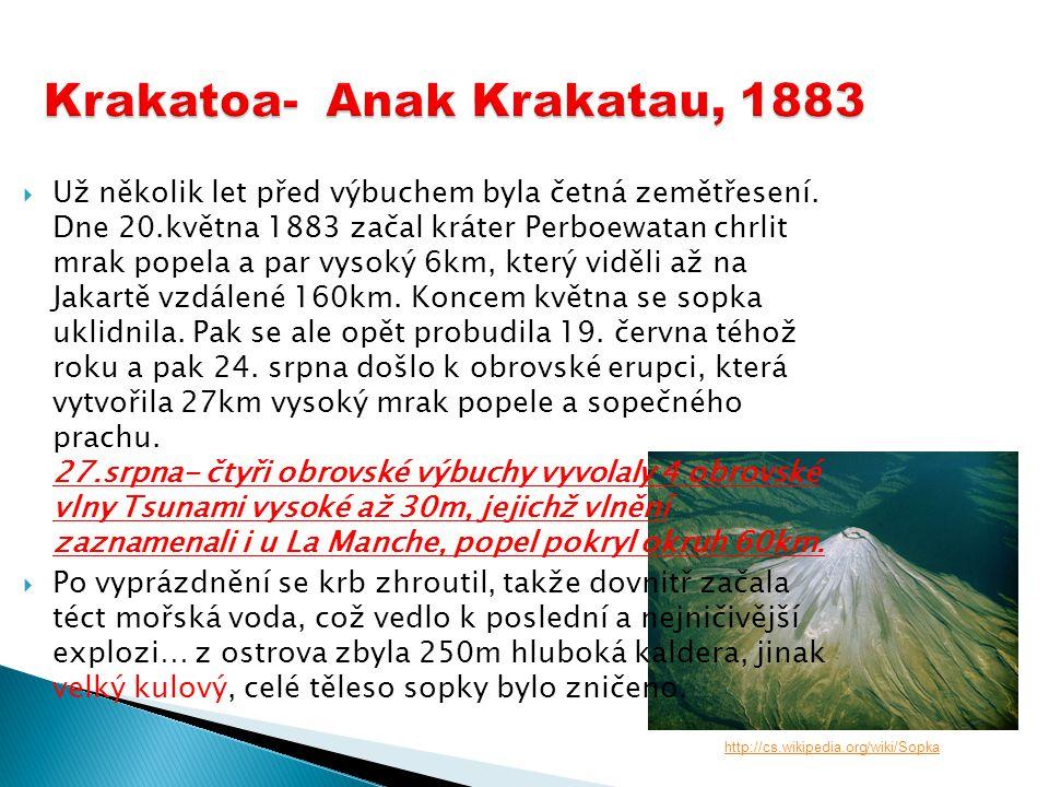 Krakatoa- Anak Krakatau, 1883