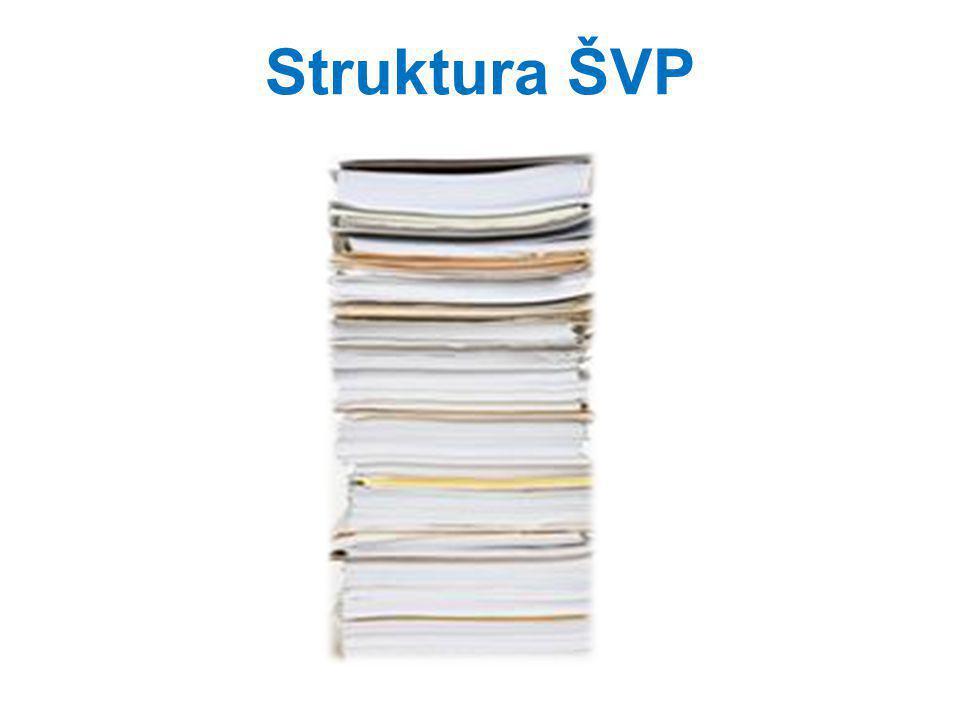Struktura ŠVP