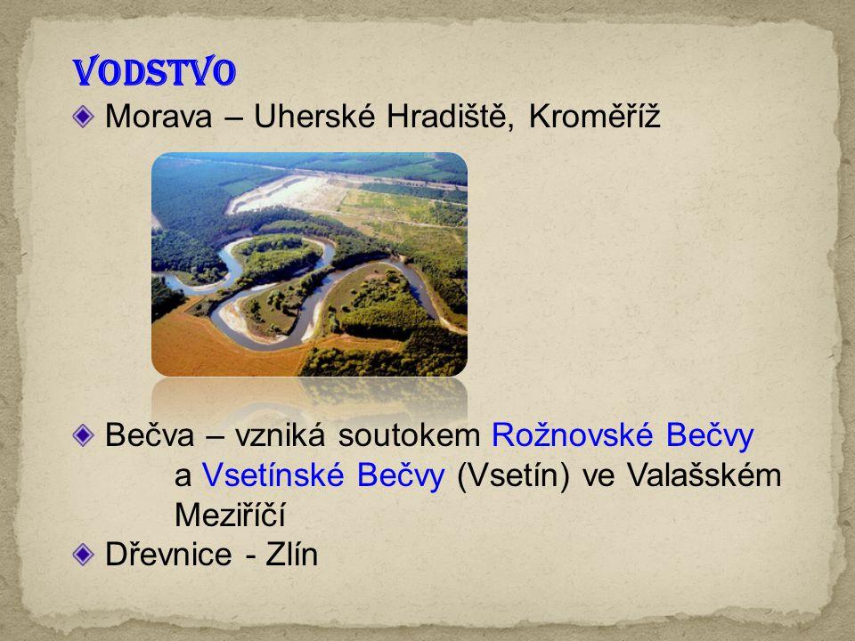 VODSTVO Morava – Uherské Hradiště, Kroměříž