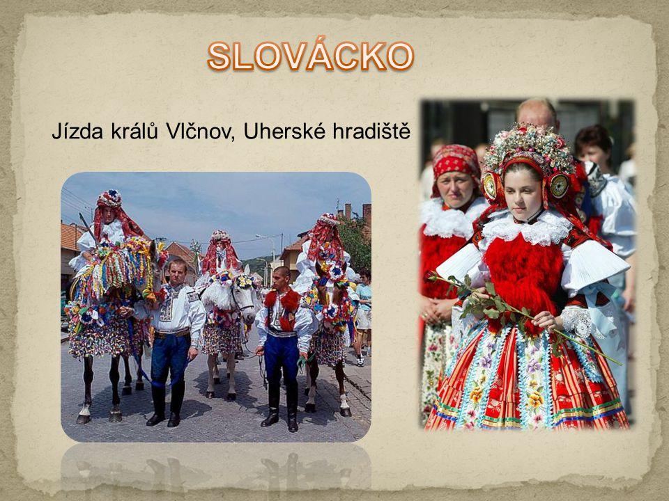 SLOVÁCKO Jízda králů Vlčnov, Uherské hradiště