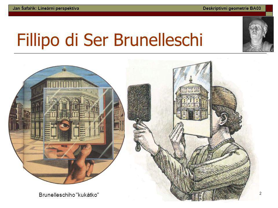 Fillipo di Ser Brunelleschi