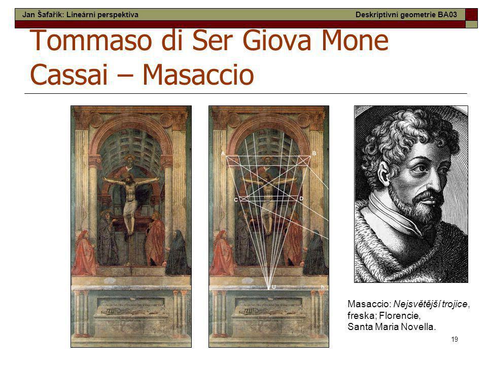 Tommaso di Ser Giova Mone Cassai – Masaccio