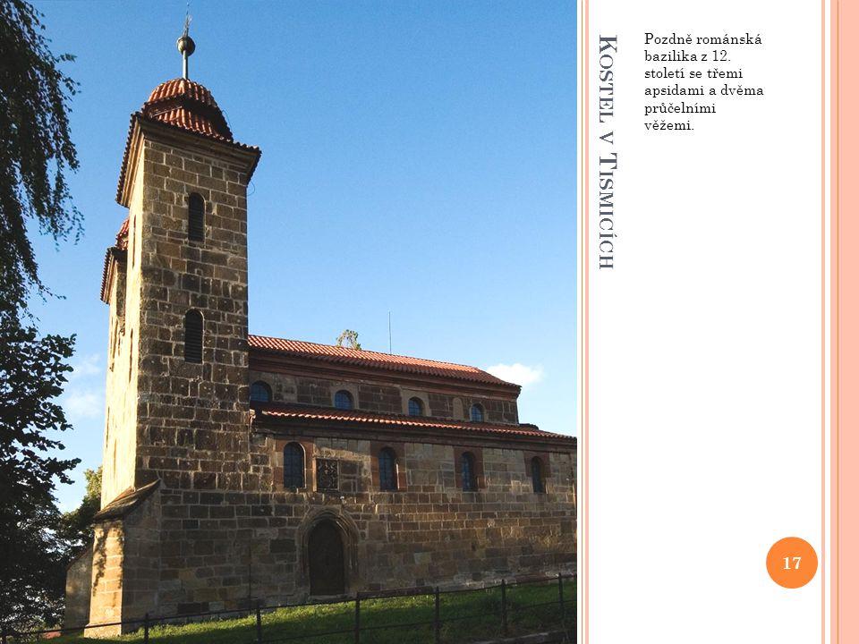 Pozdně románská bazilika z 12