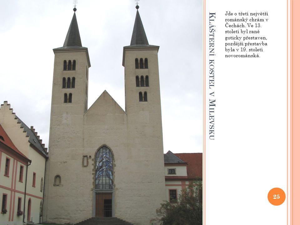 Klášterní kostel v Milevsku