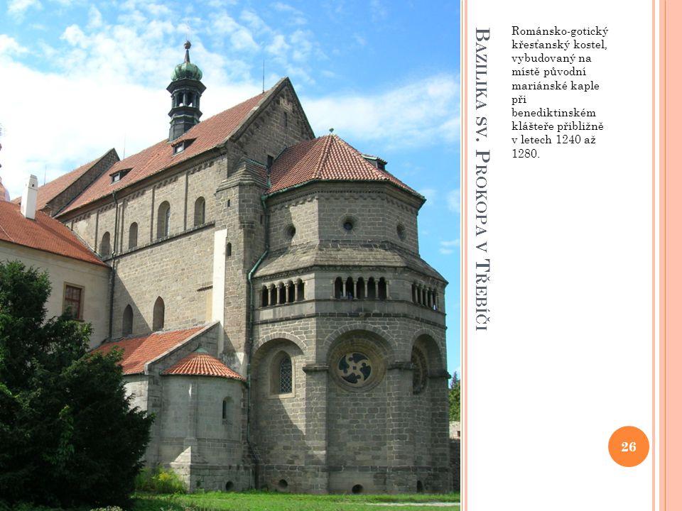 Bazilika sv. Prokopa v Třebíči
