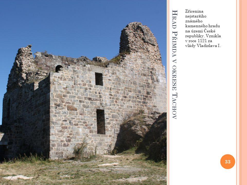 Hrad Přimda v okrese Tachov