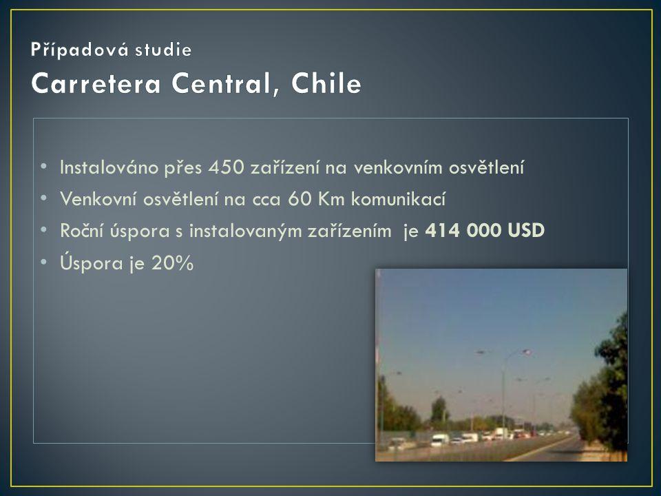 Případová studie Carretera Central, Chile