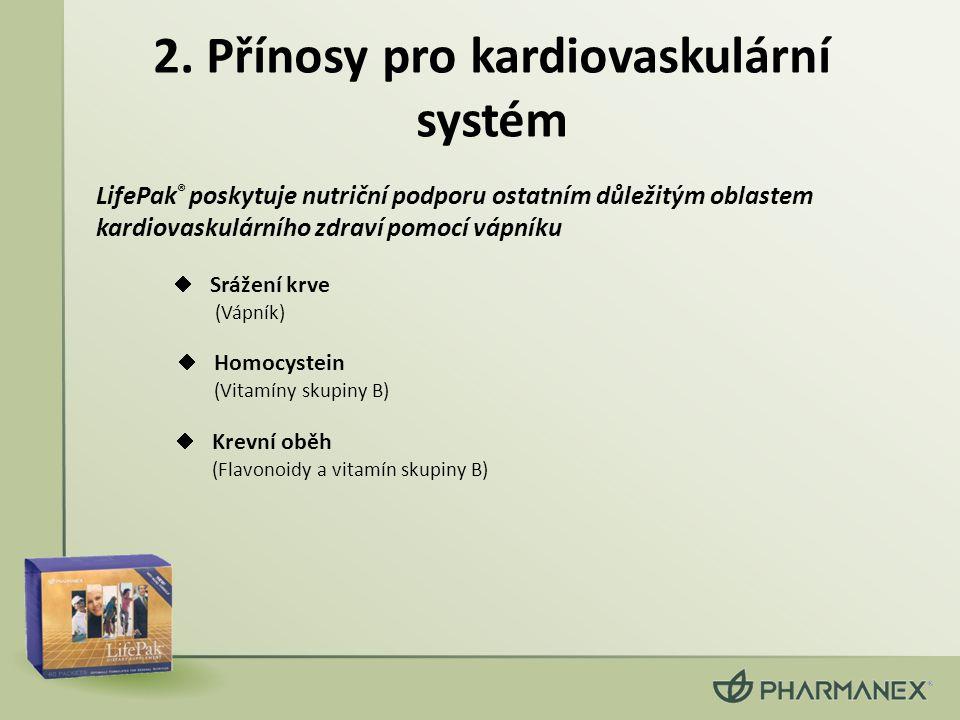 2. Přínosy pro kardiovaskulární systém