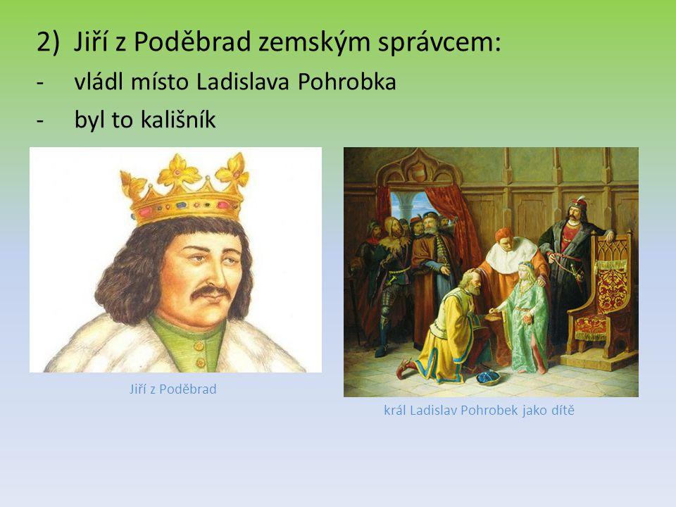 král Ladislav Pohrobek jako dítě