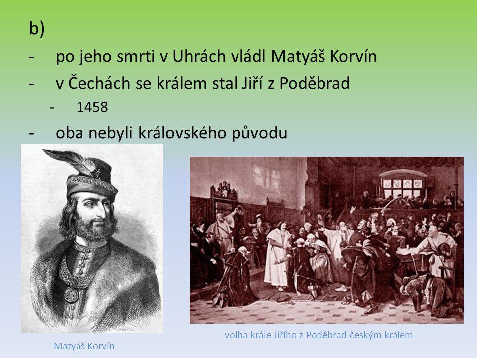 volba krále Jiřího z Poděbrad českým králem