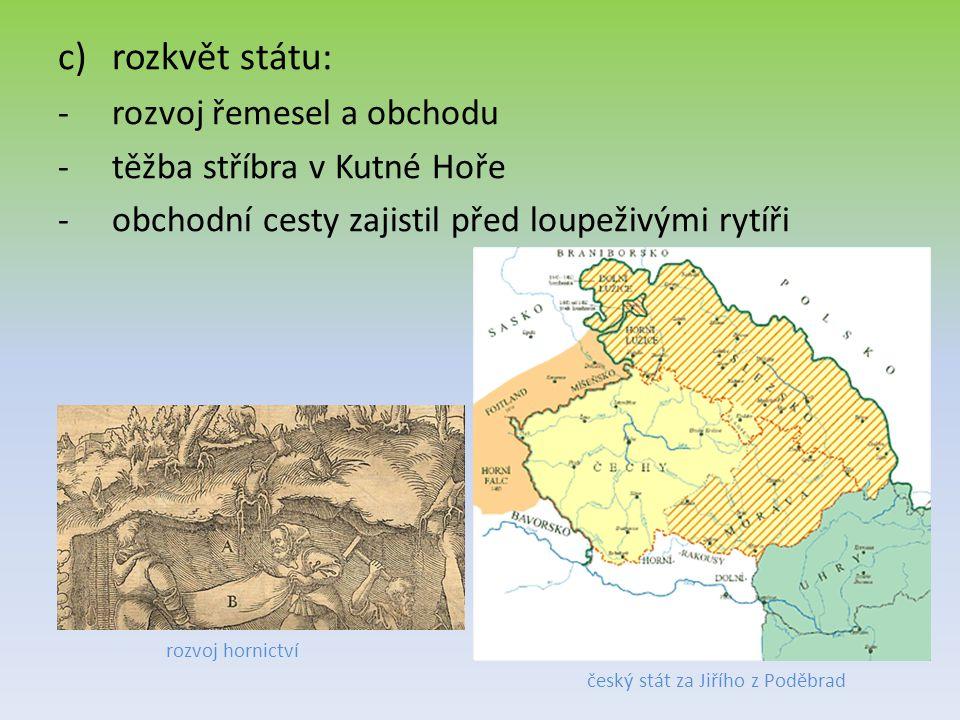 český stát za Jiřího z Poděbrad