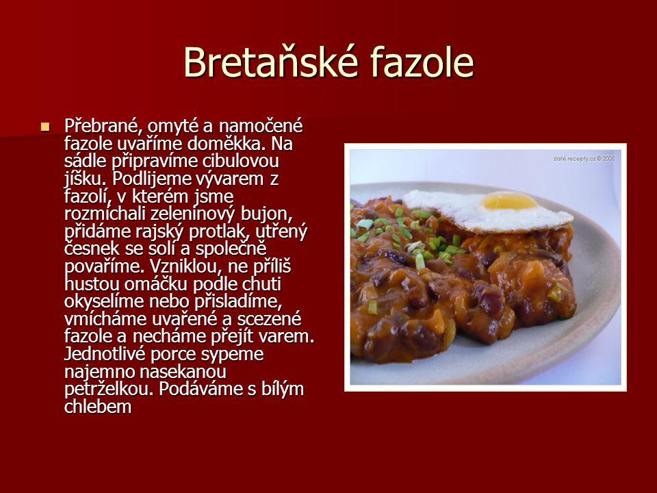 Bretaňské fazole