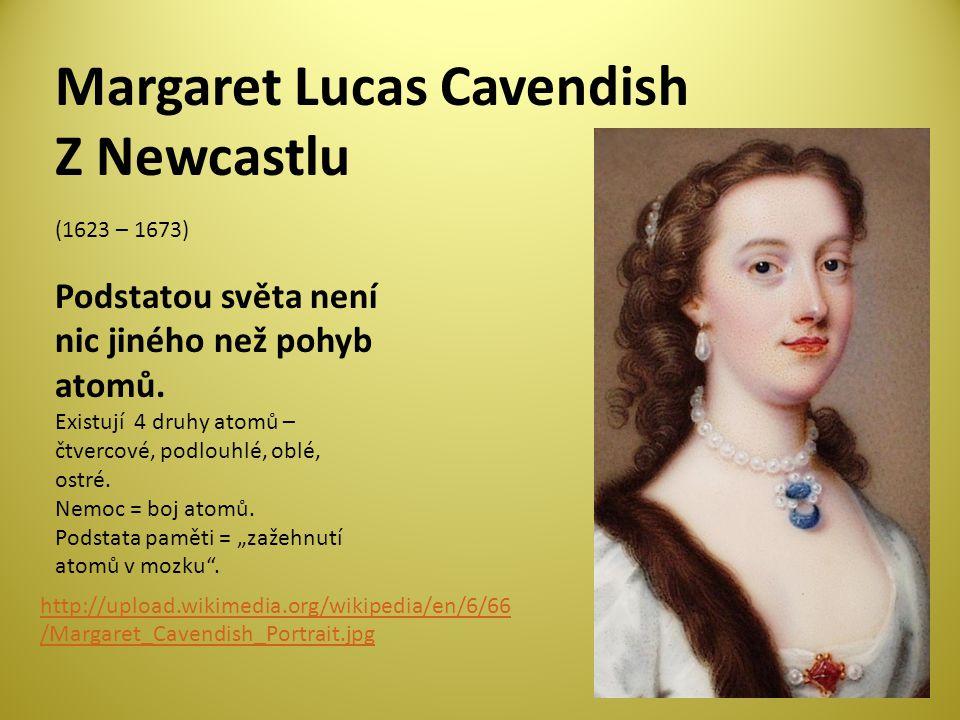 Margaret Lucas Cavendish Z Newcastlu
