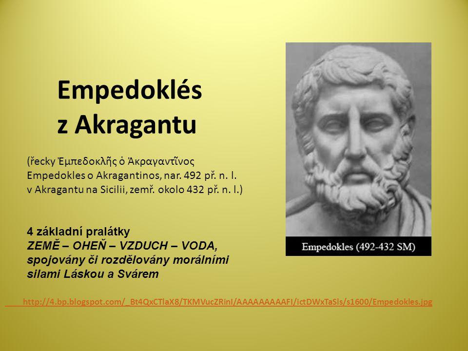 Empedoklés z Akragantu