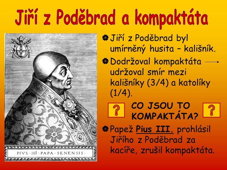 Jiří z Poděbrad a kompaktáta