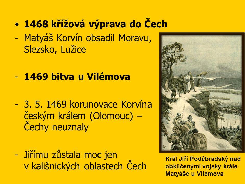 1468 křížová výprava do Čech