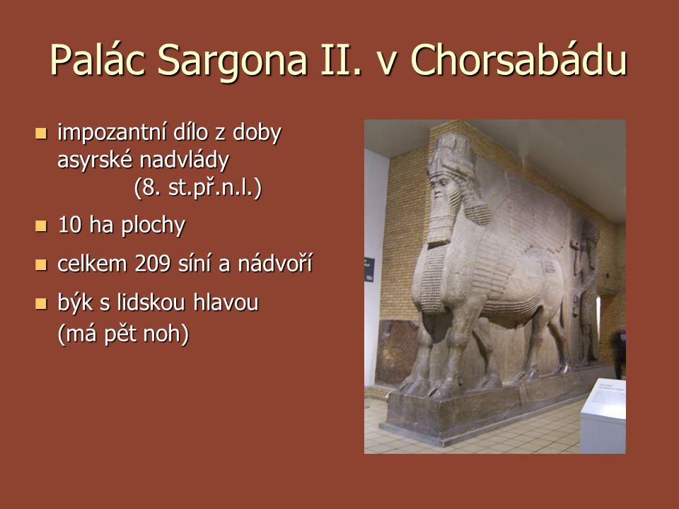 Palác Sargona II. v Chorsabádu