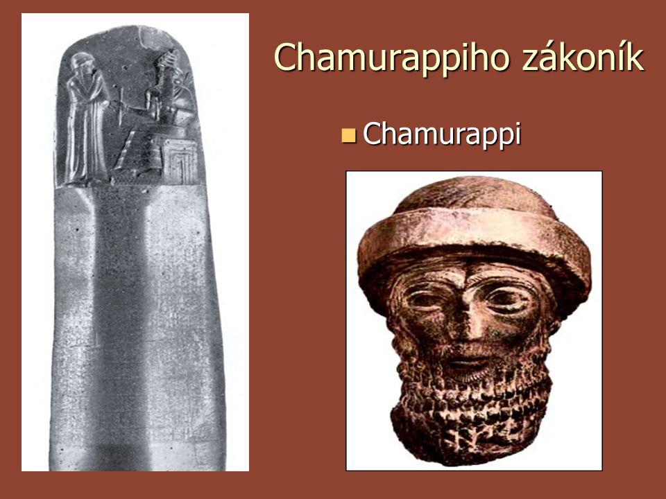Chamurappiho zákoník Chamurappi