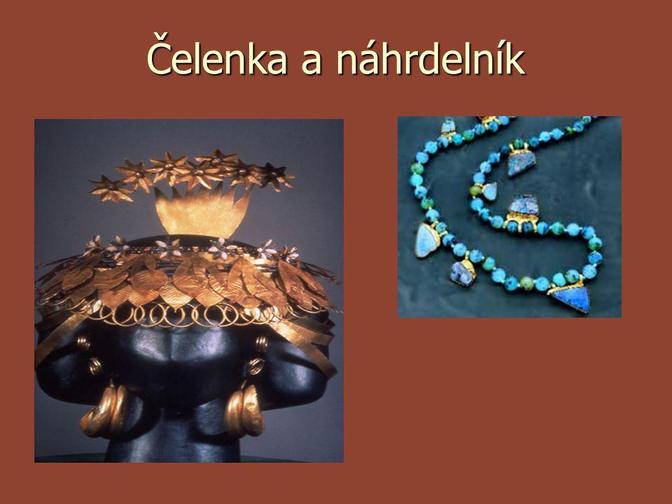 Čelenka a náhrdelník