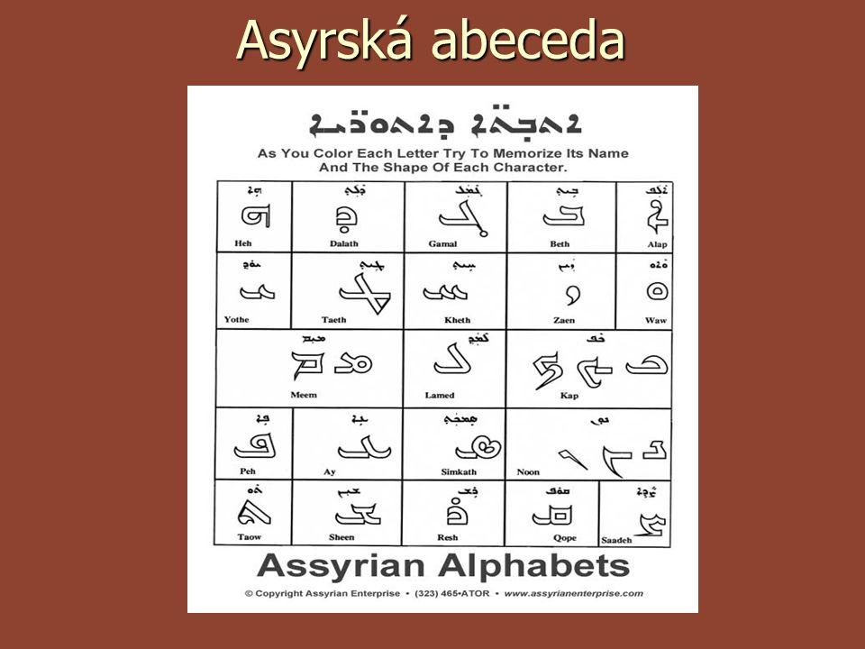 Asyrská abeceda