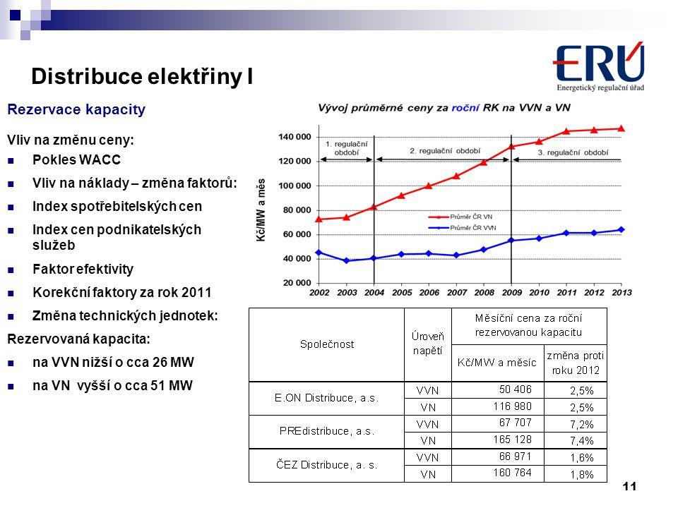 Distribuce elektřiny I