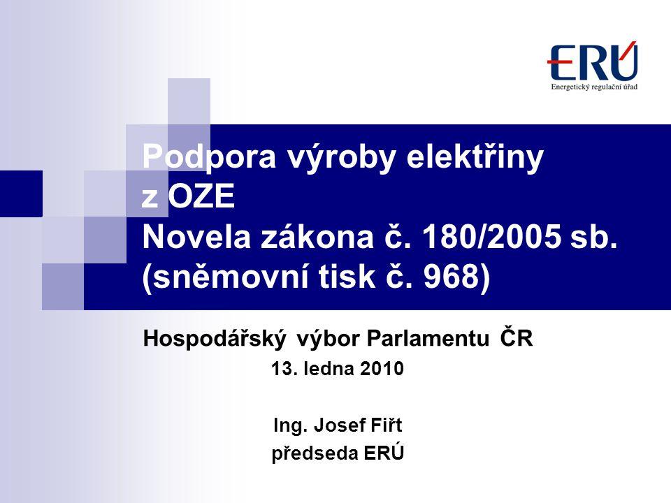Hospodářský výbor Parlamentu ČR