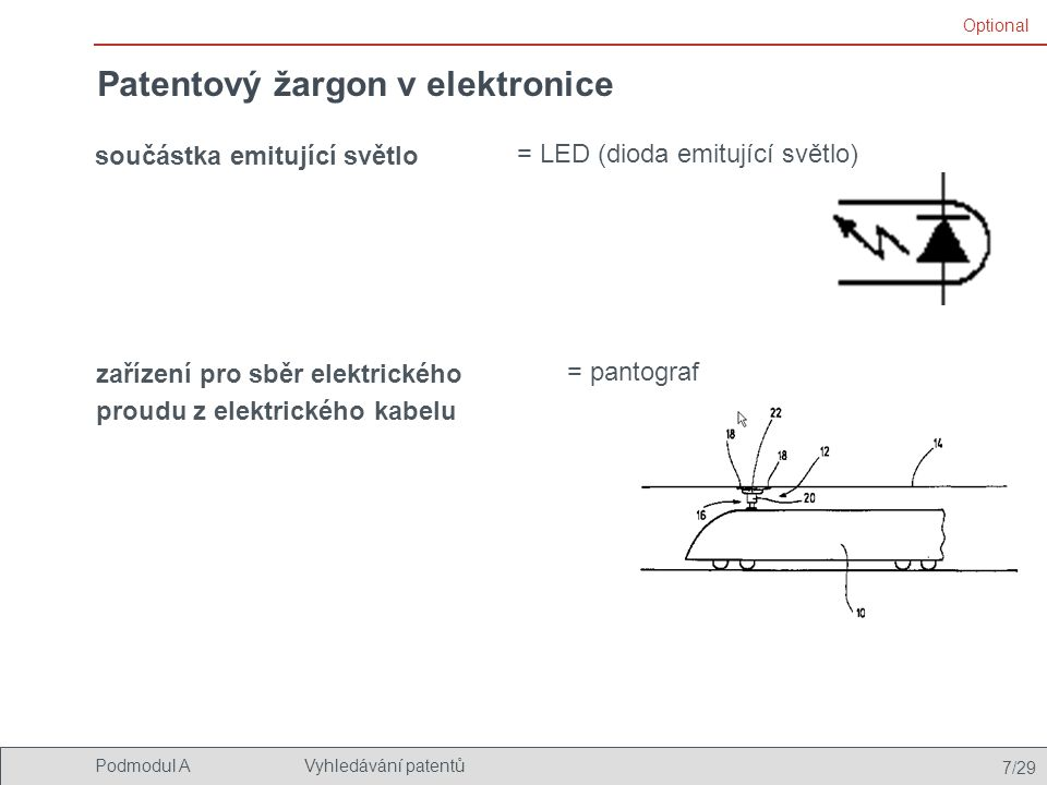 Patentový žargon v elektronice