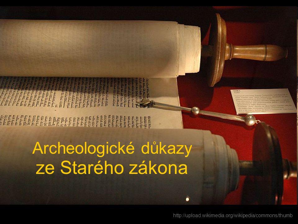 Archeologické důkazy ze Starého zákona