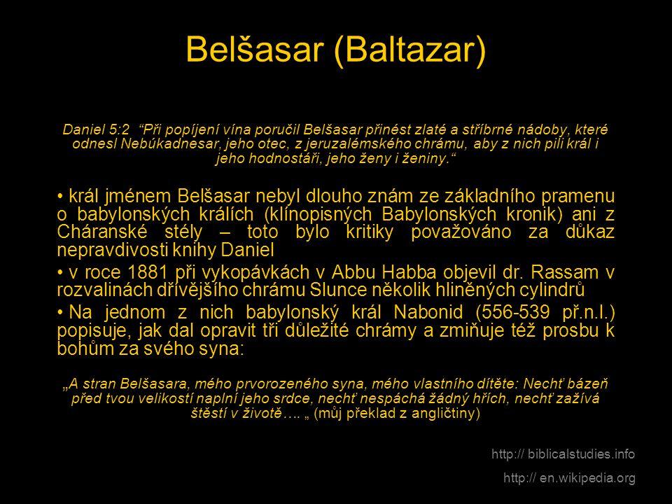 Belšasar (Baltazar)
