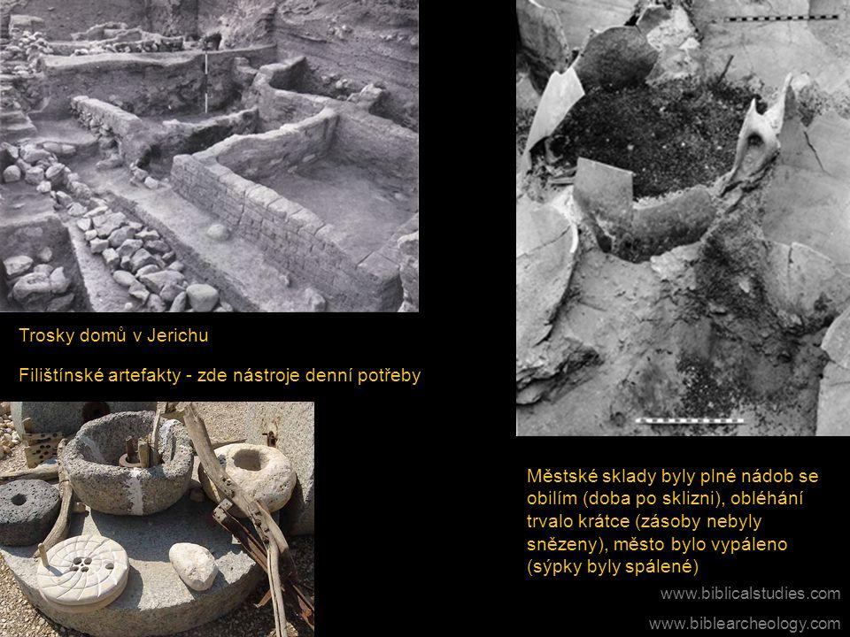 Filištínské artefakty - zde nástroje denní potřeby