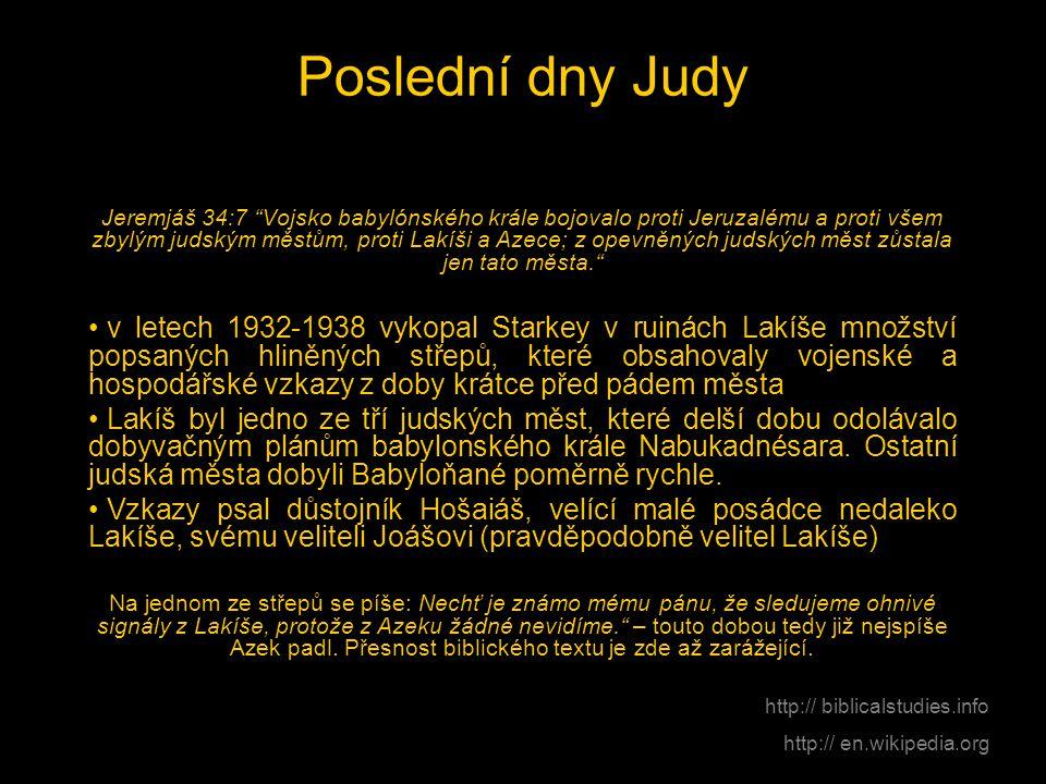 Poslední dny Judy