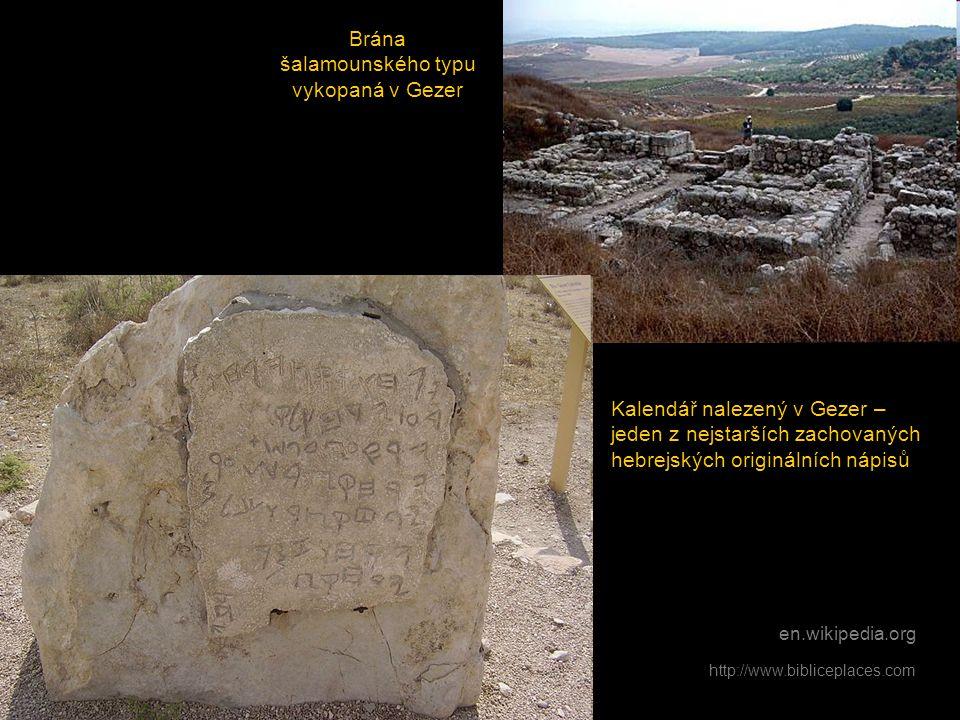 Brána šalamounského typu vykopaná v Gezer